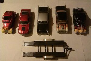 1:24 and 1:18 Diecast cars