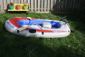 Sevylor 3 person Inflatable boat and motor