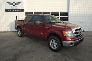 2014 FORD F-150 SUPER CREW XLT ECO BOOST 4X4 PRICED TO SELL!!