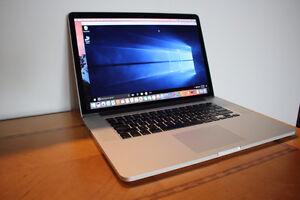 Macbook pro Retina 15 - Intel Core i7 2.7Ghz, 16GB, 768GB SSD,