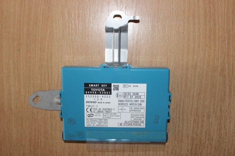 2009 LEXUS ISC IS250C / SMART KEY CONTROL MODULE 89990-53051