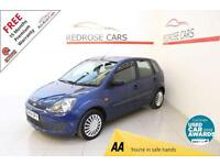 2008 58 FORD FIESTA 1.2 STYLE 16V 5D 78 BHP