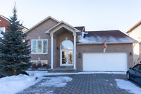 Spacious bungalow in family-friendly Embrun neighbourhood!