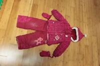Habit de neige pour fille 3T