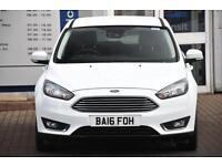 Used Ford Focus Titanium, 2016, 999cc, 5 door