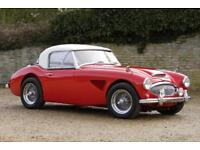 Austin Healey 3000 MkII BT7 Tri-Carb with Cream Hardtop