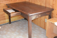 Antique Rectangular Home Office Table REDUCED PRICE
