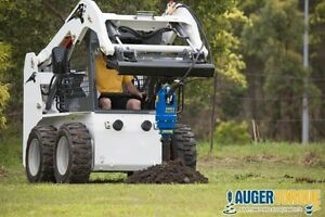 SKID STEER AND EXCAVATOR AUGER AND ANCHOR DRIVES