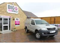 2013 TOYOTA HI-LUX HL2 4X4 D-4D 144 SINGLE CAB WITH TRUCKMAN TOP PICK UP DIESEL