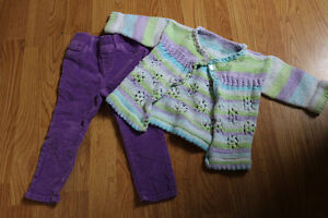 Girls fall 18-24 month clothing