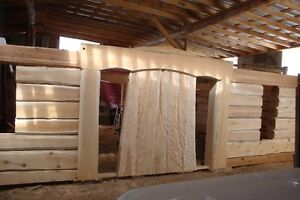 HAND CRAFTED CEDAR LOG HOME FOR SALE