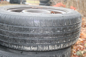 Tiger Paw 195/65R/15 Snow tires and rims