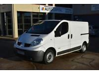RENAULT TRAFIC TRAFIC SL27+ DCI 115 SHORT WHEELBASE 5D 3SEAT 115 BHP FWD