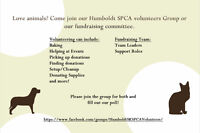 Humboldt SPCA Looking for Volunteers for Fundraisers