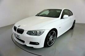 image for 2013 BMW 3 Series 3.0 325D M SPORT 2d-2 OWNER CAR-BLACK DAKOTA LEATHER-REAR PARK