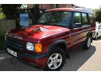 2001 (51) Land Rover Discovery 2.5 Td5 GS Red Long MOT Service History 2 Owner