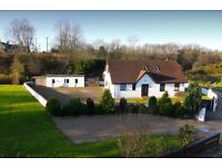 4 bedroom detached house in a lovely private rural location.