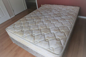 DOUBLE SEALY POSTUREPEDIC BED delivery