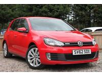 VOLKSWAGEN GOLF 2.0 TDI GTD 5 Door Hatchback Red Manual Diesel, 2012