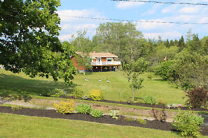 Water view home for sale located in Pocologan NB.