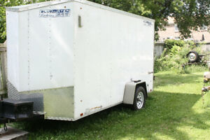 12' X6' enclosed trailer