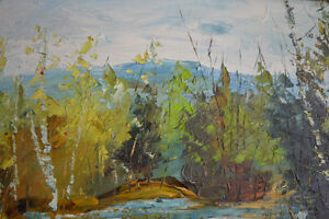 LARGE FERNAND LABELLE OIL PAINTING 20 X 24 inches SIGNED Gatineau Ottawa / Gatineau Area image 5