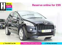 2013 Peugeot 3008 1.6 HDi FAP Allure 5dr SUV Diesel Manual