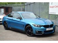 2017 BMW 4 Series 2.0 420d M Sport Auto xDrive (s/s) 2dr Coupe Diesel Automatic