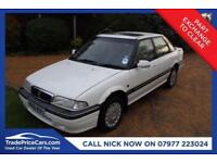 CHEAP CAR - 1994 M ROVER 400 1.6 416 SLI 16V 4D 114 BHP