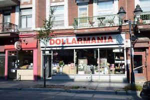 TRÈS RENTABLE magasin à 1$ Plateau-Mont-Royal