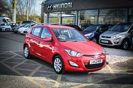 2013 63 HYUNDAI I20 1.2 Active 5dr in Red