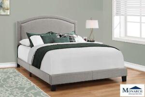 Grey Queen Bed