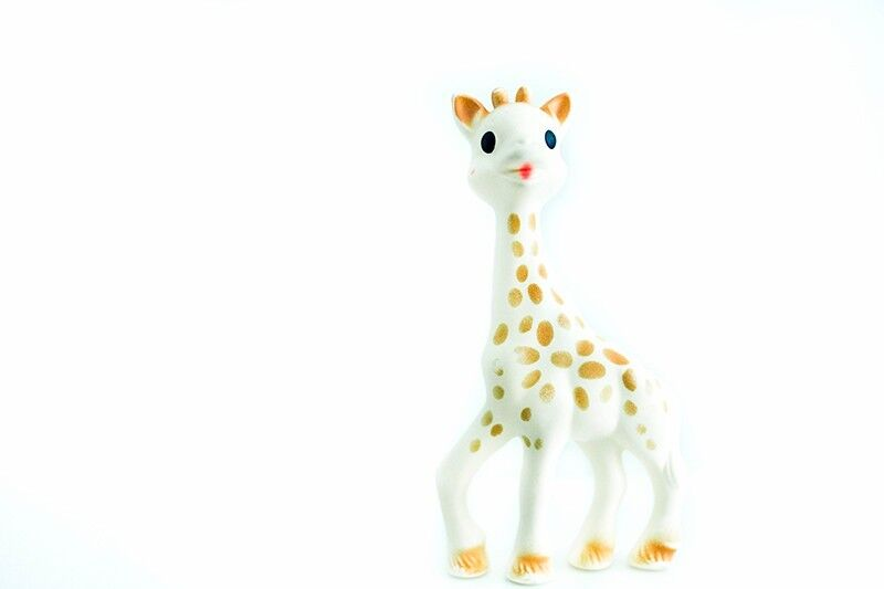 Sophie the giraffe teether for baby infant toddler kid child