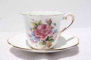 Ad4- Vintage Clare Bone China Cups & Saucers - $10.00 +