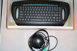 INFRARED wireless computer multimedia keyboard/mouse - BNIB