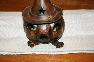 Primitive Tin Pumpkin