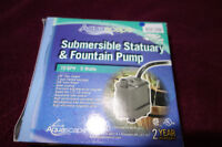 Submersible Statuary & Fountain Pump - 50% off!