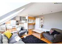 *** Spectacular Architecturally Designed Two Double Bedroom Conversion with Private Roof Terrace ***
