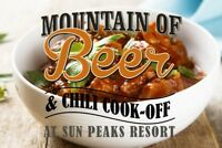 Mountain of Beer and Chilli Cook Off