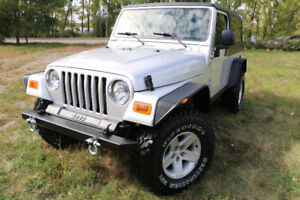 2005 Jeep TJ Rubicon Unlimited Long Wheelbase RARE EXTRA CLEAN !