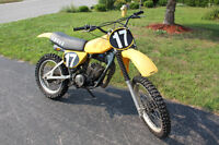1978 YZ 125/175 With Ownership