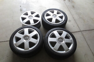 Audi First Generation TT Rims and 3 tires