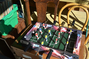 Small sized Portable Foosball table - approx 2 feet long