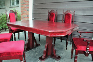 DINING TABLE WITH CHAIRS (DINING SET)