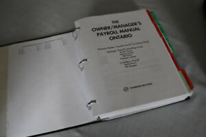 Owner/Manager's Payroll Manual