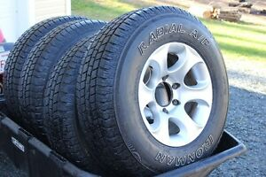Tires and Rims LT245/75R16
