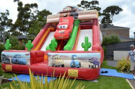 FULL OF AIR JUMPING CASTLE FAIRY FLOSS POPCORN SLUSHIE PARTY HIRE