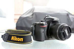 Nikon D5200 24.1MP DSLR Camera + 18-55mm Lens + extra battery