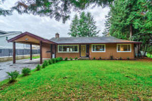 Fort Langley rancher on 1/4 acre lot
