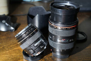 Lenses - Canon 28-70L f2.8 and Canon 85mm f1.8